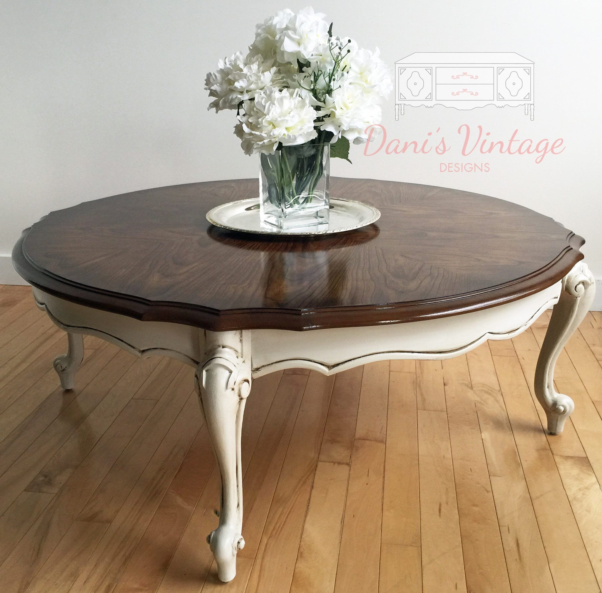 French Provincial Round Coffee Table Round Coffee Table Decor