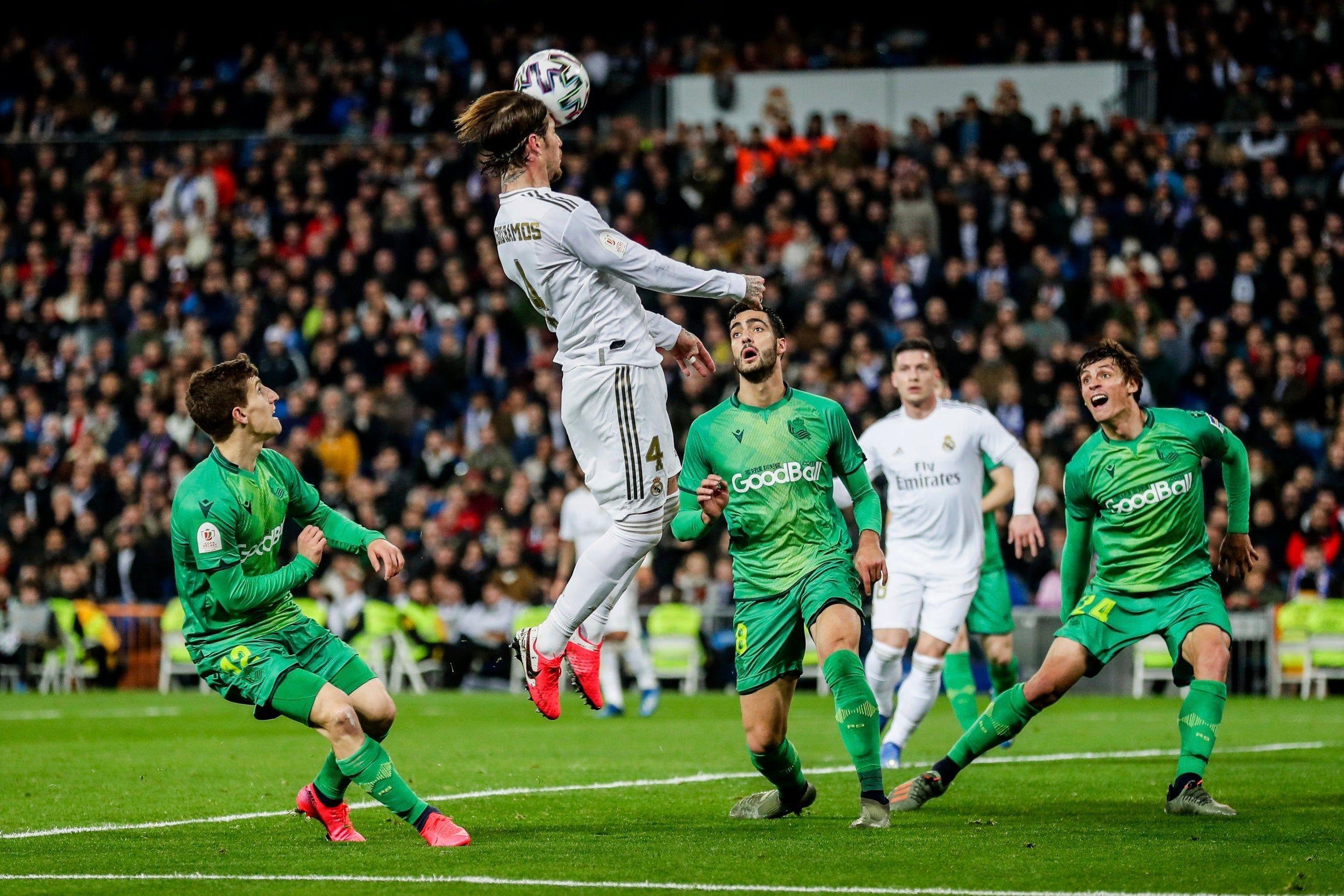 Copa Del Rey Real Madrid 3 4 Real Sociedad As It Happened In 2020 Real Madrid Real Sociedad Madrid