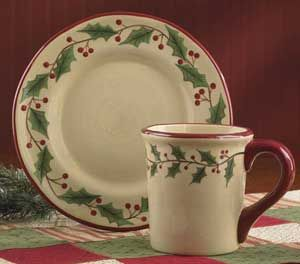 Park Designs Holly Dinnerware ~ I have this set and love it! & Park Designs Holly Dinnerware ~ I have this set and love it! | The ...