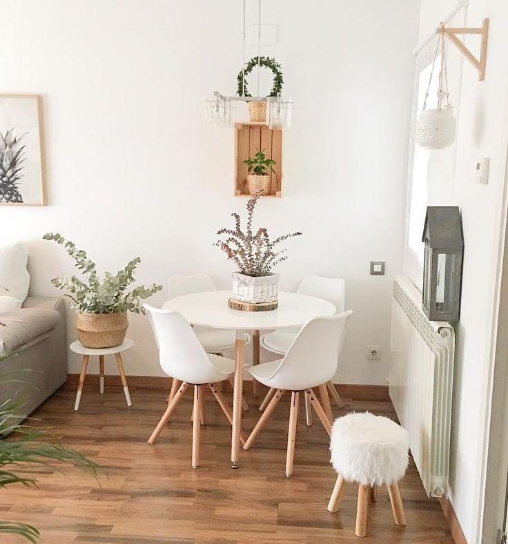 Das Bild kann enthalten: Tabelle und Innenraum | Ikae Dekoration #décosalleàmanger