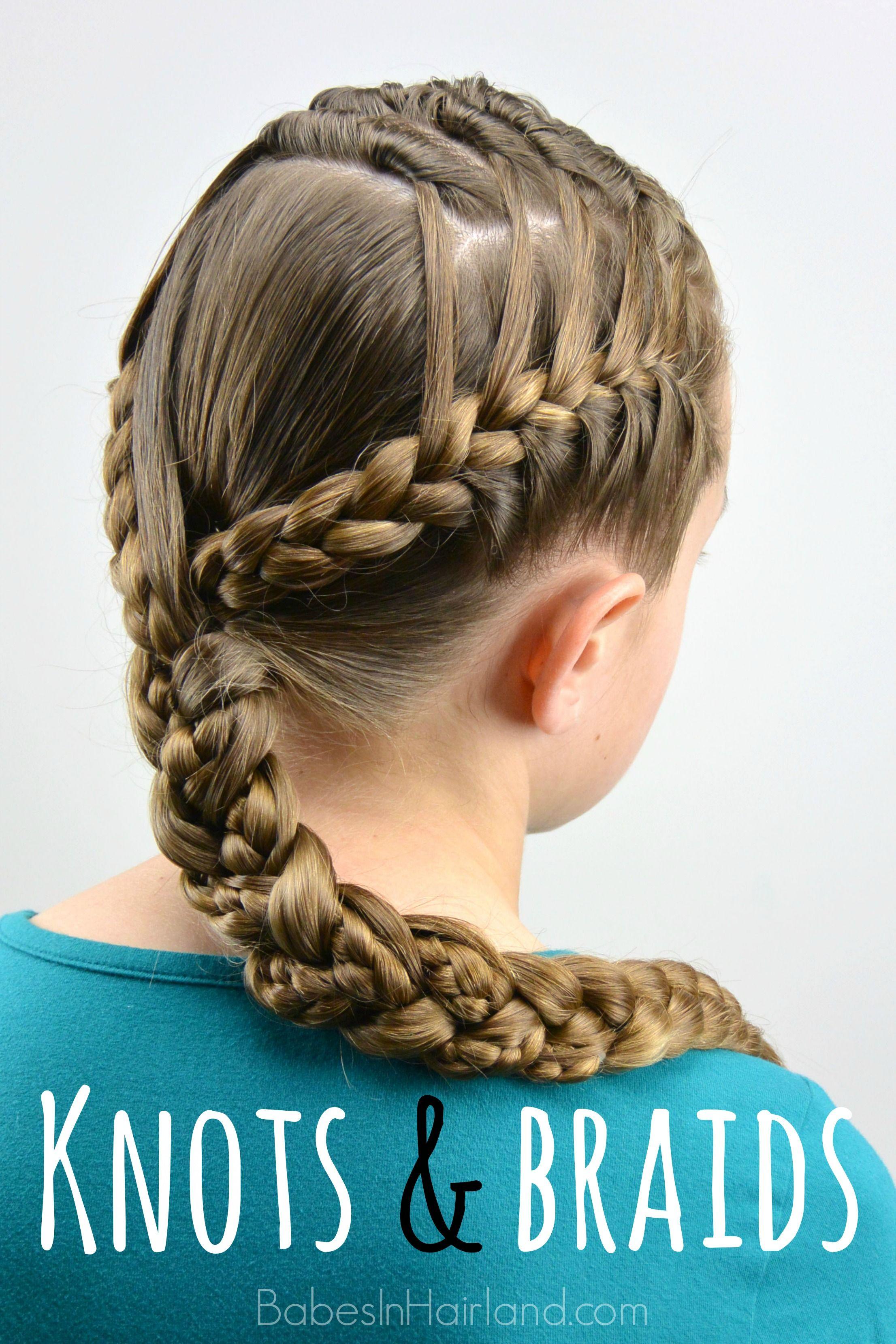 Knots and braids womenus fashion pinterest hair styles braids