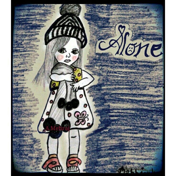 Doll alone