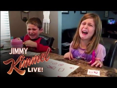 Jimmy Kimmel's 'I Told My Kids I Ate All Their Halloween Candy' Challenge Will Literally Never Get Old