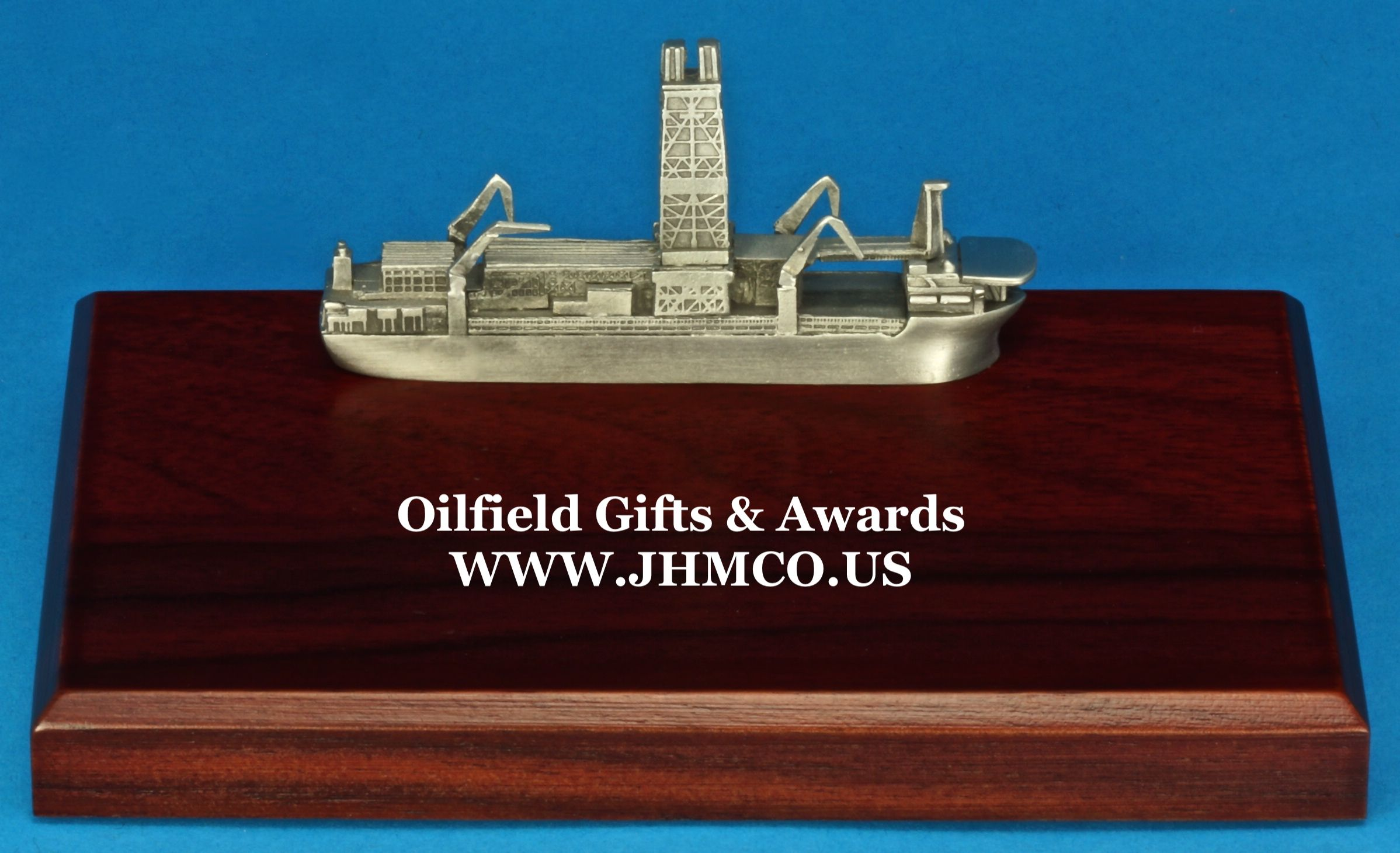 Dill Ship Oilfield Oil And Gas Offs Drill Rig Model Award Gifts Great Plaques For Roughnecks Industry Workers John H Martin Company Since