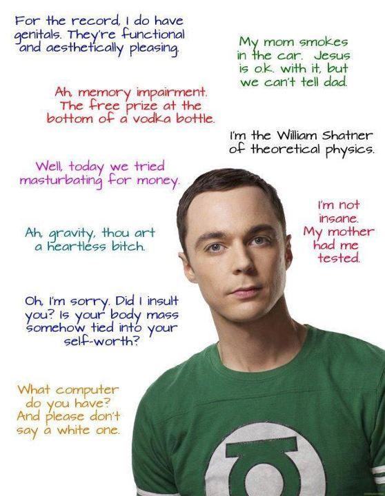 Sheldon's logic