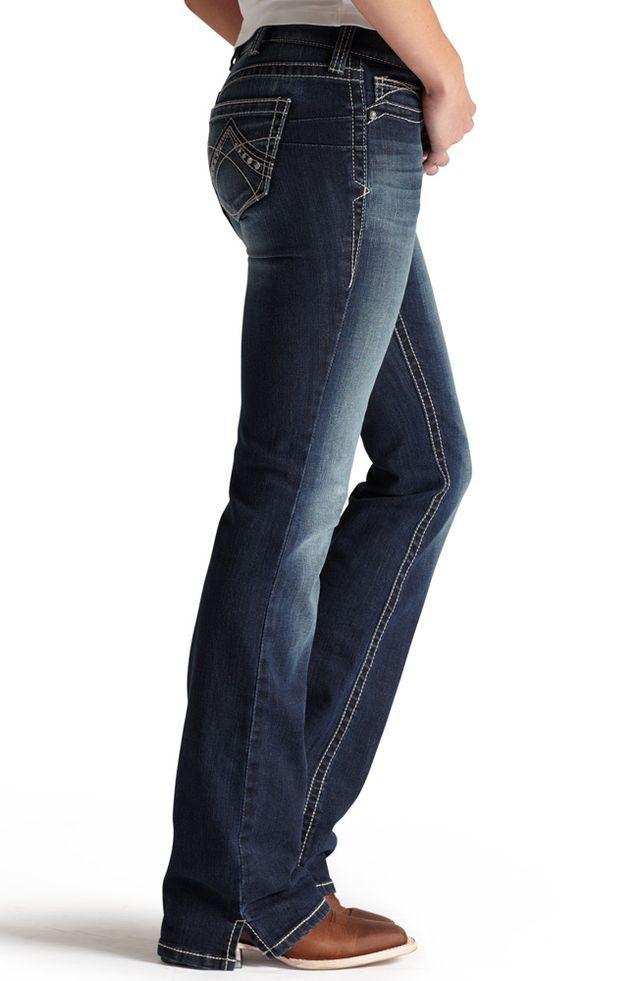 Pin En Boot Cut Jeans