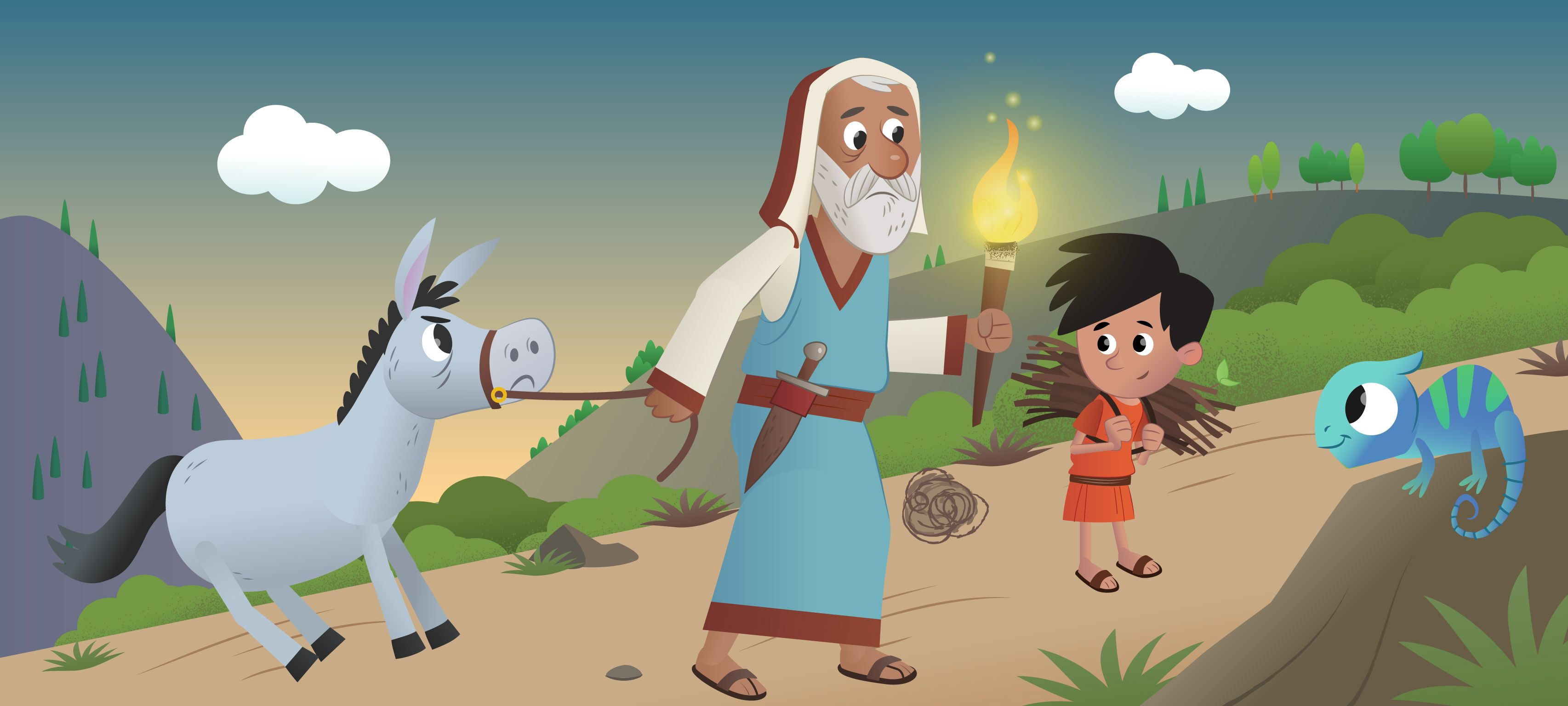 "New in the Bible App for Kids: ""In the Garden"": Peter Denies Knowing ..."