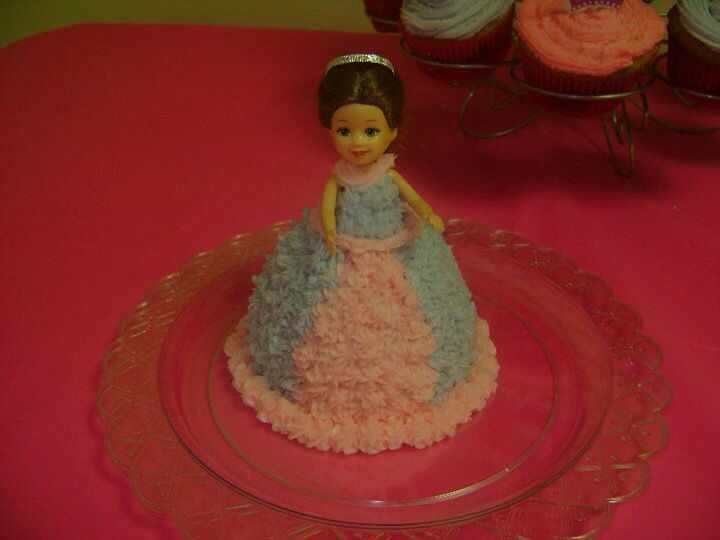 Princess 1 year old smash cake