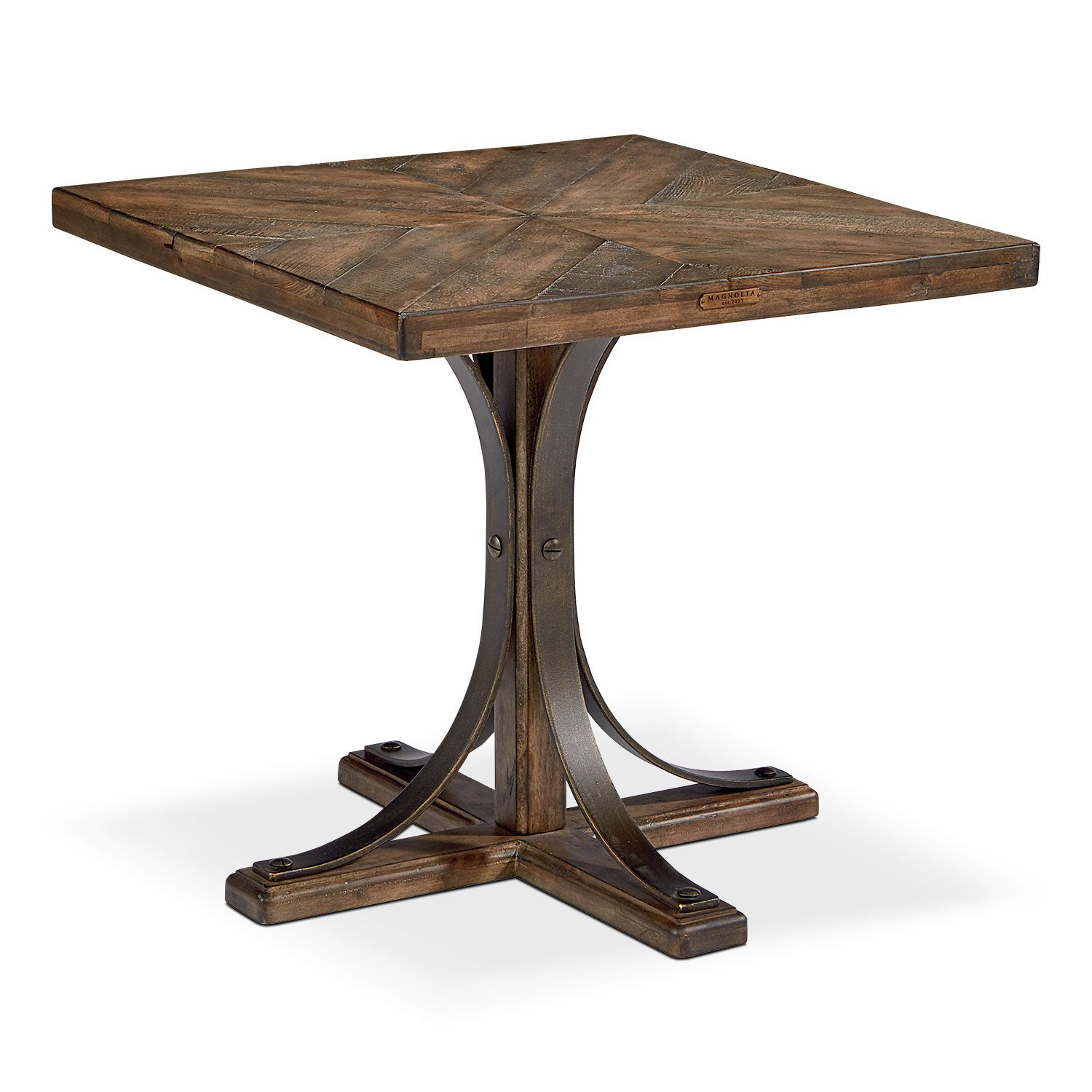 Accent And Occasional Furniture   Traditional Iron Trestle Hall Table
