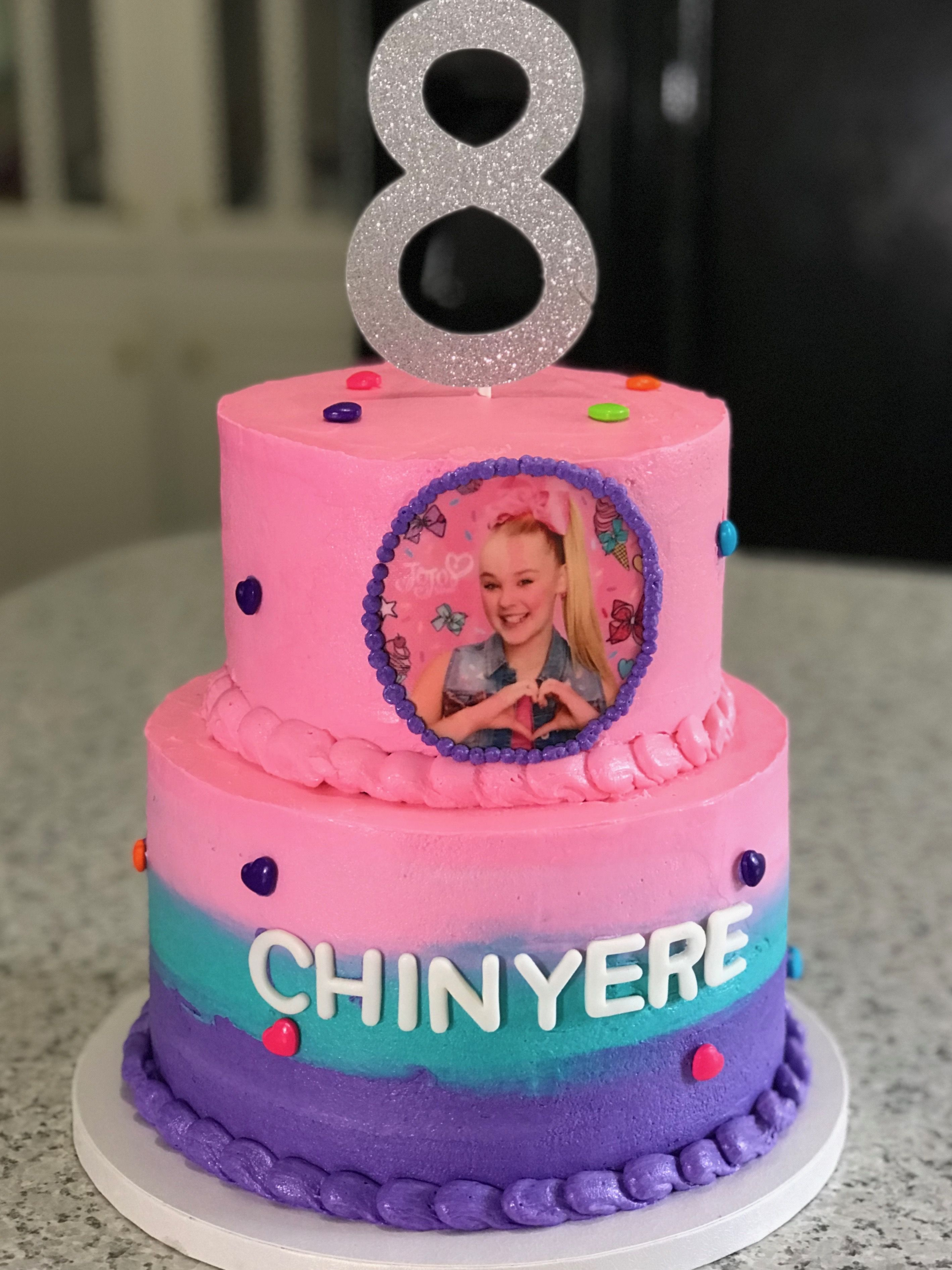 Jojo Siwa Birthday Cake Children Birthday And Baby