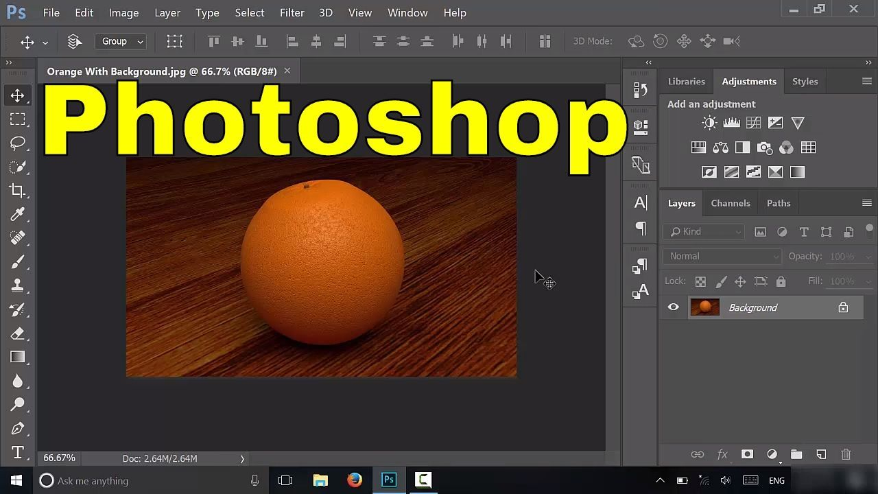 How To Change Background Color In Photoshop CC Tutorial   YouTube     How To Change Background Color In Photoshop CC Tutorial   YouTube