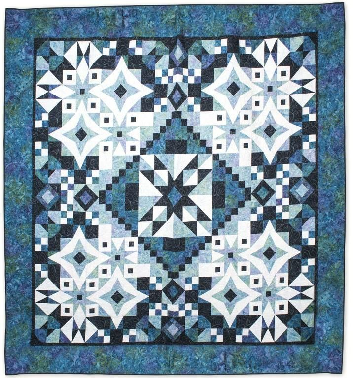 Four Simple Fabrics One Amazing Quilt Online Class
