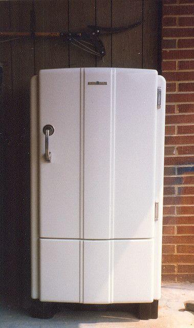 1937 General Electric Refrigerator Art Deco Style Art Deco Art