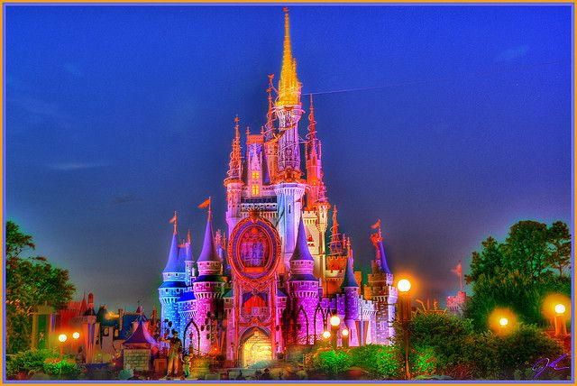 Cinderellas castle front hdr cinderella castle castles and hdr cinderella castle painting recent photos the commons getty collection galleries world map app gumiabroncs Images