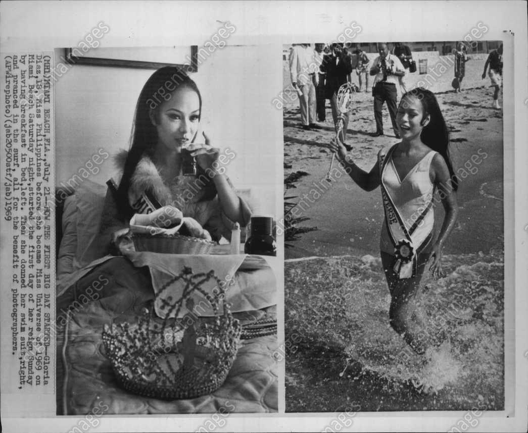 Gloria Diaz (b. 1951)