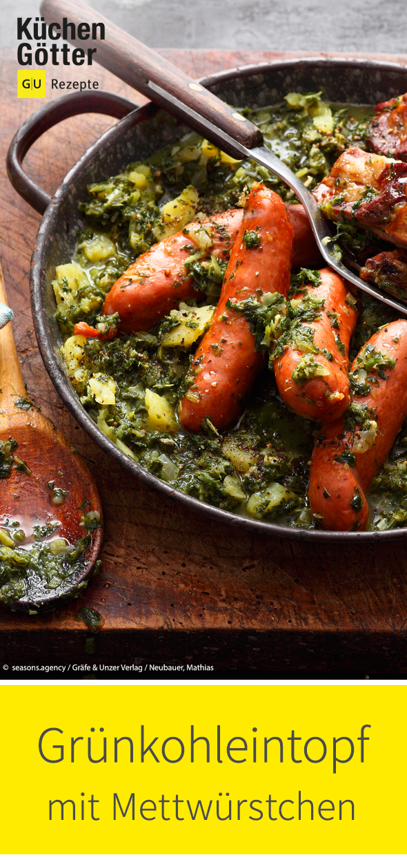 Kale stew with sausages -  Our kale stew with sausages is a classic and must not be missing in your