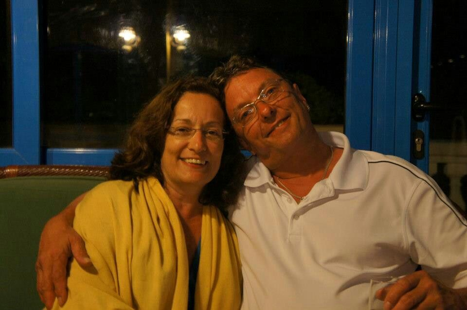 Robin Alexander Bryan And His Partner Louise Houle O border=