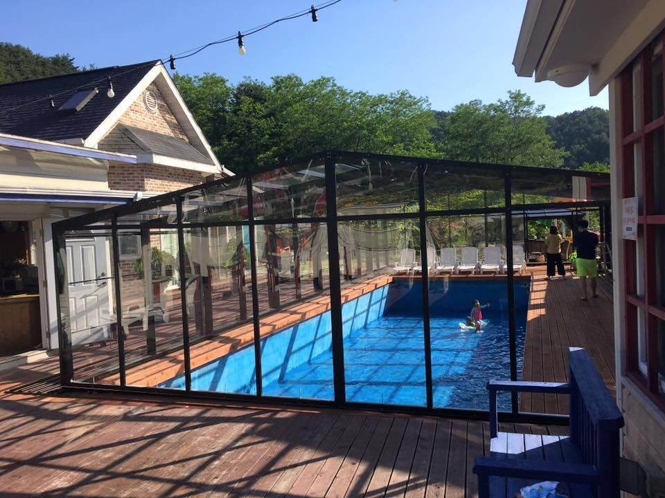 Residential Swimming Pool Enclosure Indoor Outdoor Pool Swimming Pool Enclosures Pool Screen Enclosure