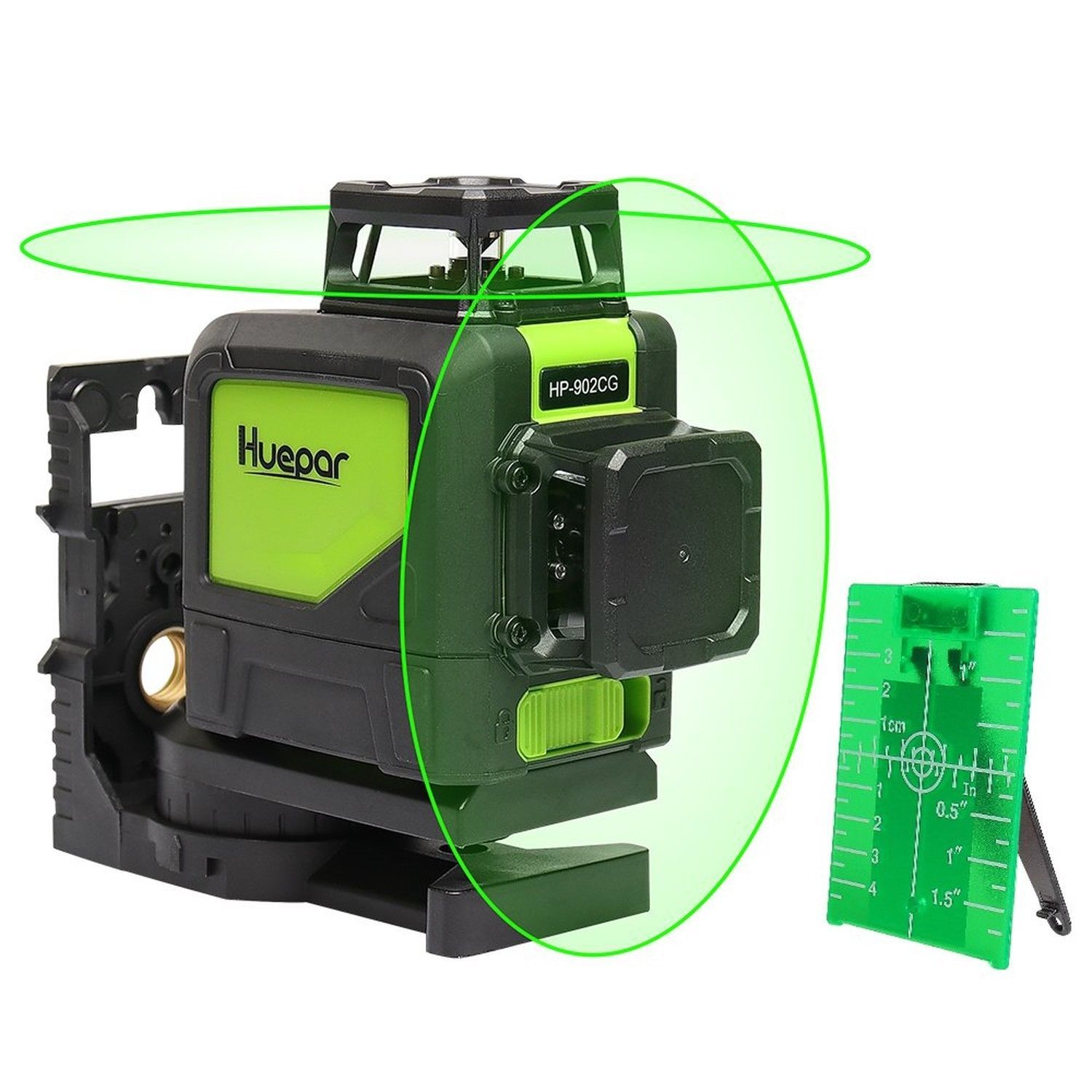 Huepar Self Leveling 360 Laser Level Mute Levelsure 902cg Green Beam 150 Ft Ebay Laser Levels Laser Vertical