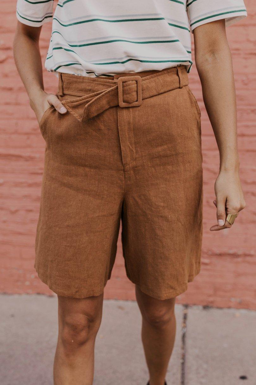 Hendrickson Belted Shorts