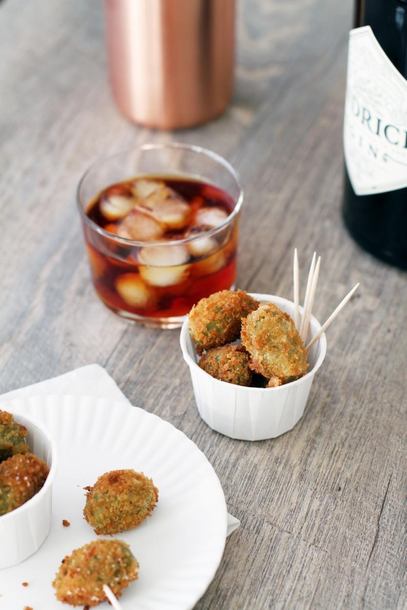 Friteeratut oliivit // Fried Olives Food & Style Tiina Garvey, Fanni & Kaneli Photo Tiina Garvey www.maku.fi
