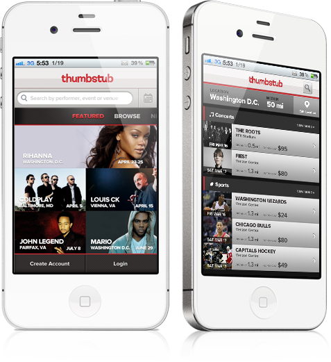 Thumbstub is an Android and iPhone app that will help you