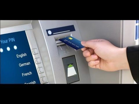 Pin on ATM