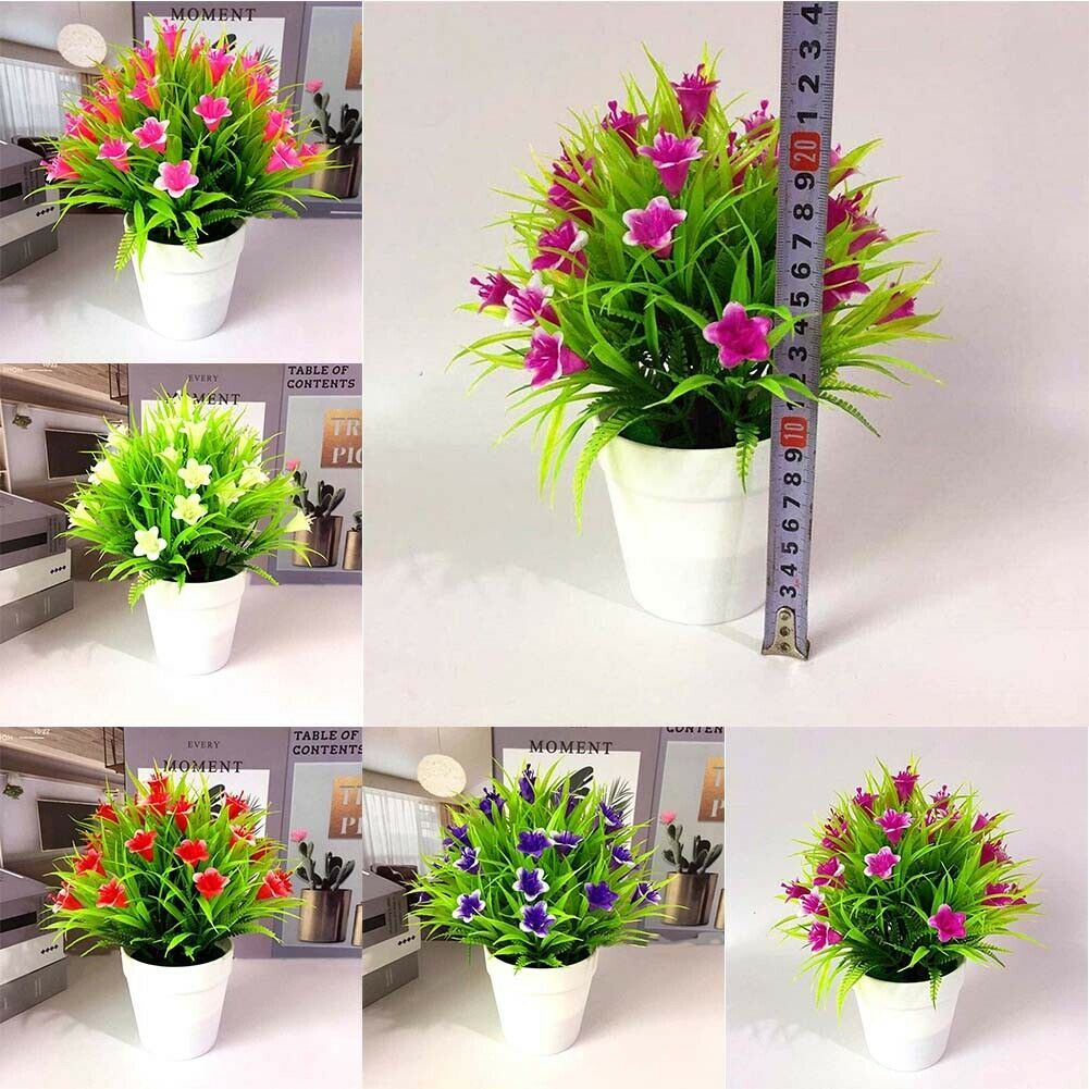Lively Artificial Potted Flower Fake False Plants Decor Beautiful Durable Artificial Plants Ideas Of Arti In 2020 Artificial Plants Fake Potted Plants Plant Decor