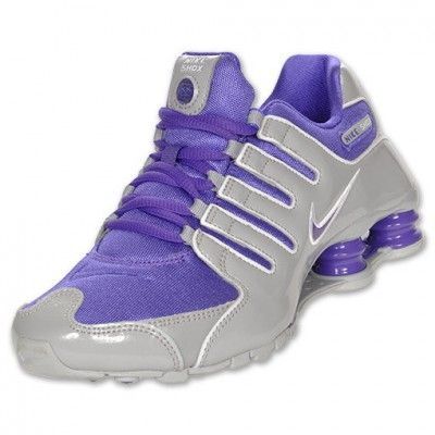 Tênis Nike Shox Women s 2012 WMNS NZ SZ 7.5 Wolf Grey Pure Purple Si Plus  314561-059  Tenis  Nike 0825a368a