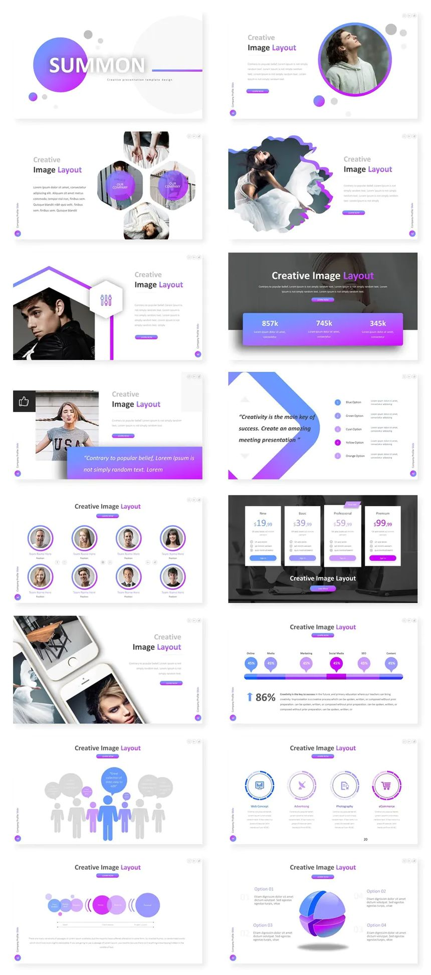 Multipurpose PowerPoint Presentation Template - 30 Slides