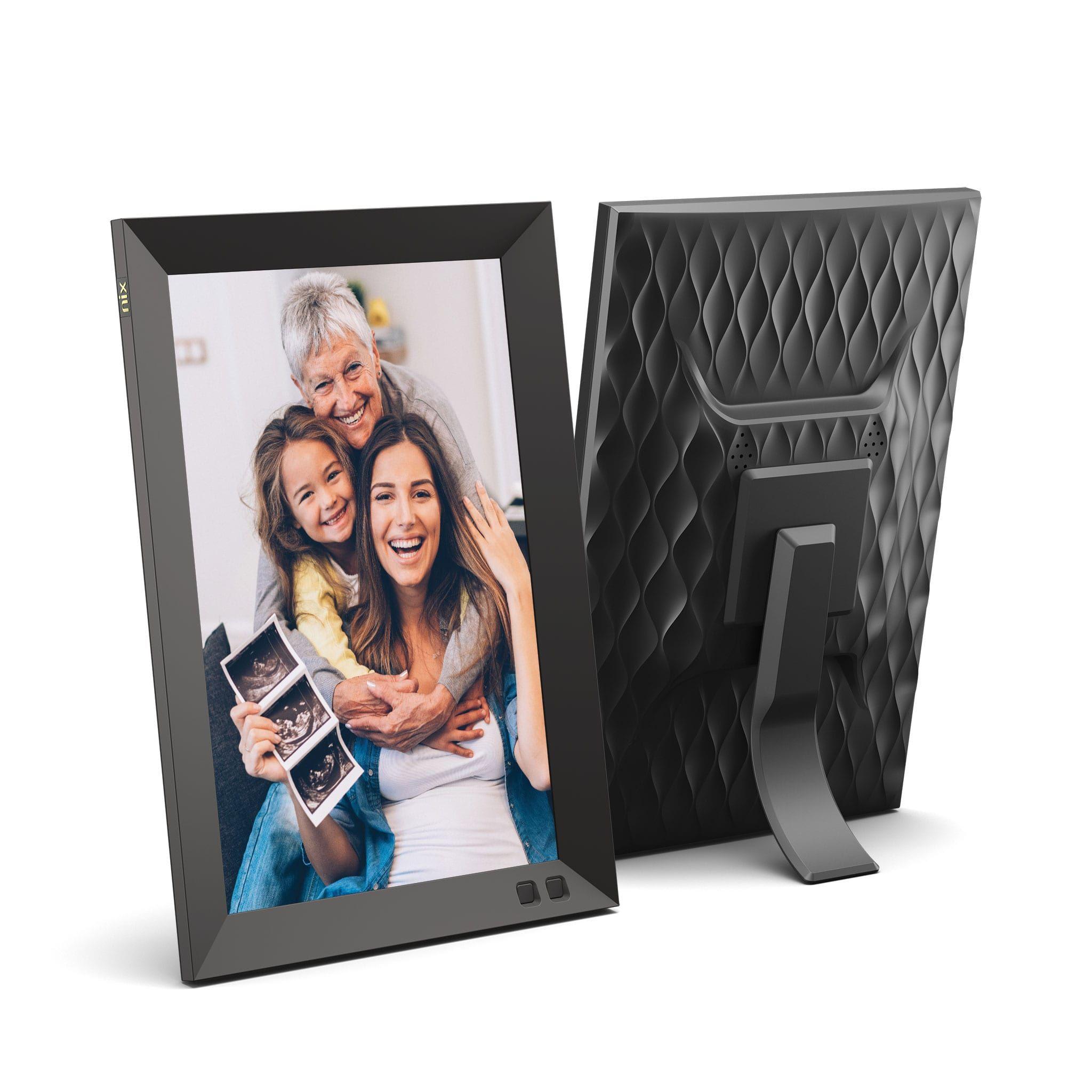 Nix 10 1 Wall Mountable Hd Digital Photo Frame With Auto Rotate And Motion Sensor Walmart Com Digital Picture Frame Digital Photo Frame Photo Frame