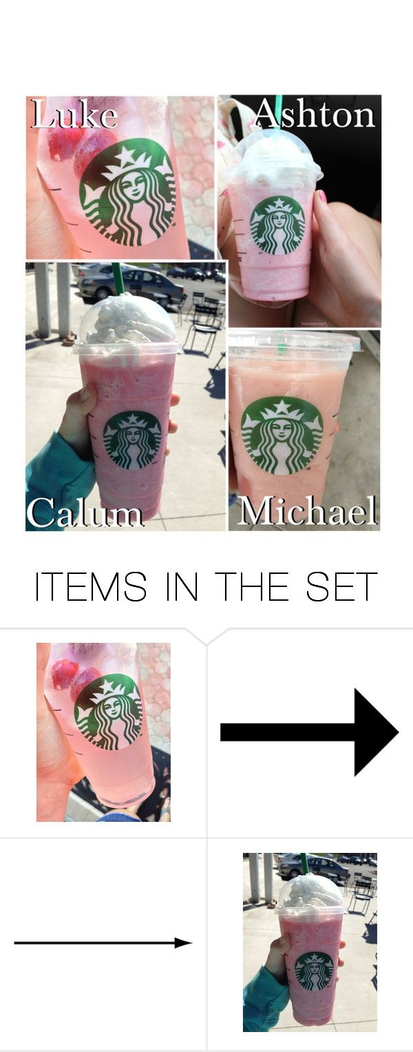 """Your pink Starbucks drink!"" by x5sosxpreferencesx ❤ liked on Polyvore featuring art"