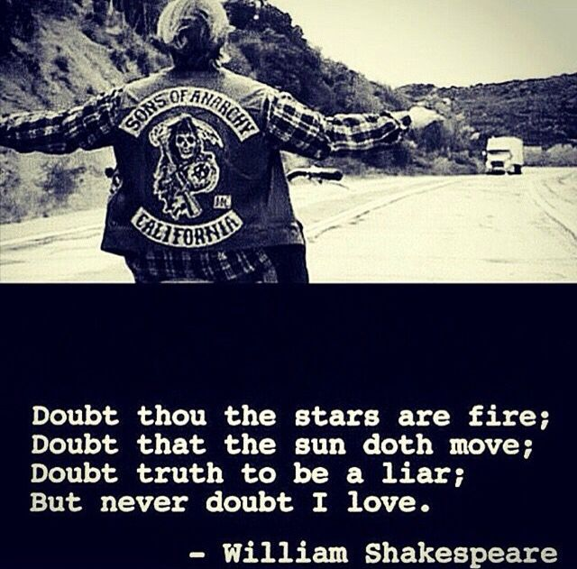 Sons Of Anarchy The Final Ride Is Over And To Quote Hamlet Sons Of Anarchy Anarchy Sons