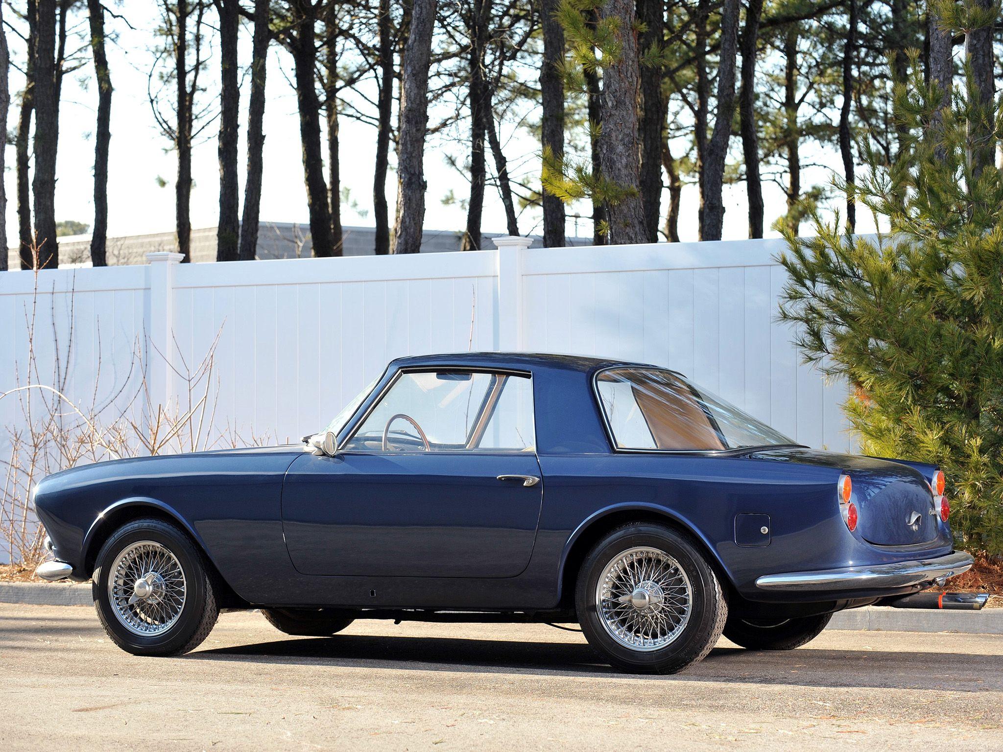 1961 Cisitalia DF85 Coupe by Fissore Cars to admire