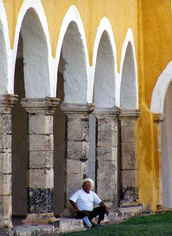 **** - Izamal, Yucatan Architecture....Mexico