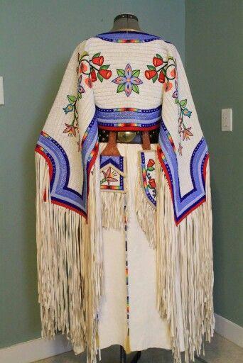 Beautiful Buckskin Native American Clothing Traditional