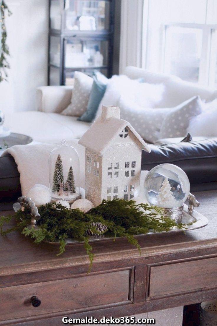 Einzigartige und Kreative Weihnachten weiß und umweltfreundlich #Dydecoration #Unerfahren #We... #vintageweihnachtendeko