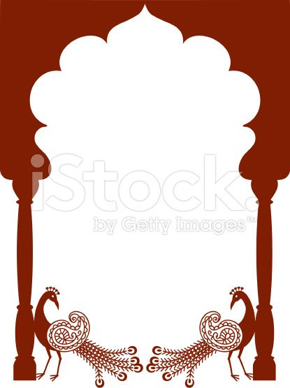Mehndi Peacock Arch Vector Stock Vector Art 6720257 Art Wallpaper Iphone Art Vector Art Illustration