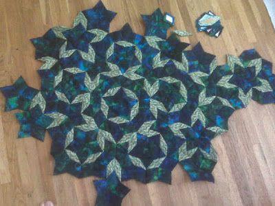 Penrose Tiles -- from Wolfram MathWorld   Penrose tiling