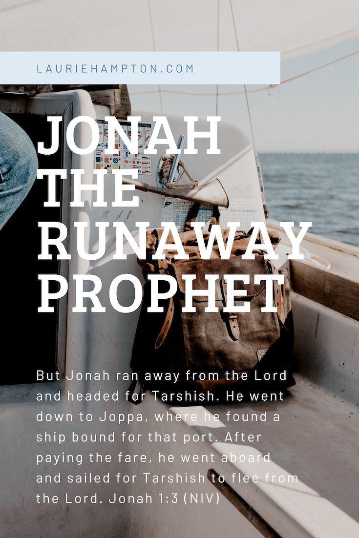 Jonah the runaway prophet jonah the whale names of