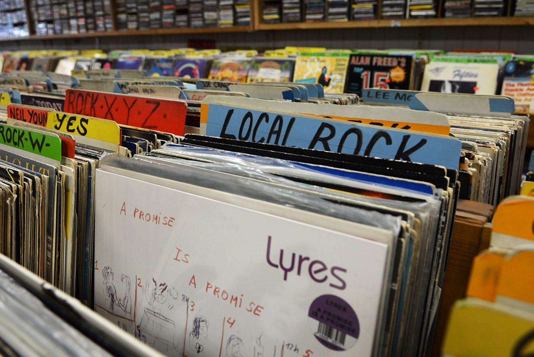 On The Grid Cheapo Records Central Square Boston