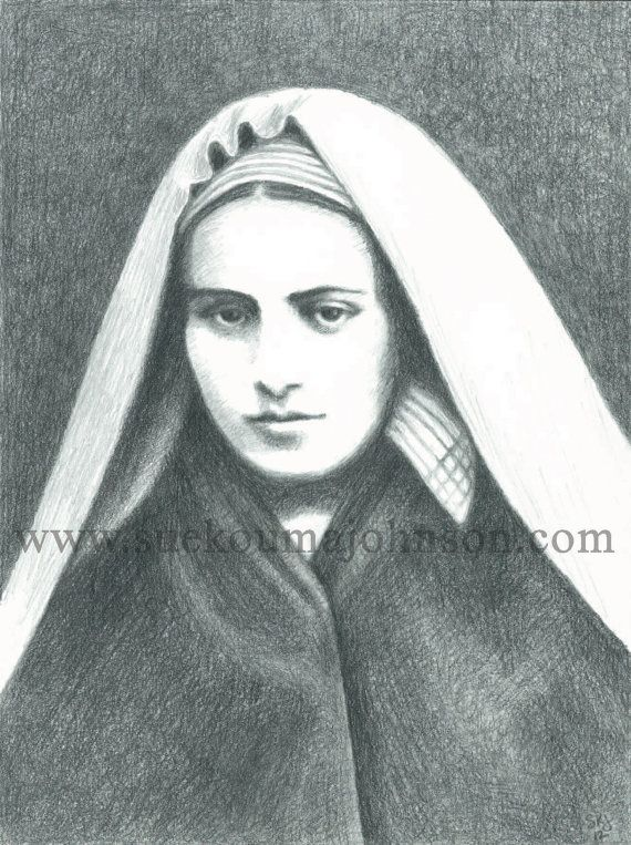 Hey, I found this really awesome Etsy listing at https://www.etsy.com/listing/159642018/confirmation-gift-for-her-st-bernadette