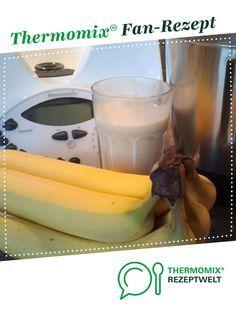 Photo of Banana shake with vanilla ice cream