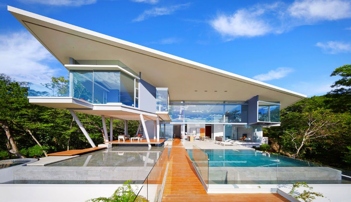 Modern Residence Located On The Papagayo Peninsula Of Costa Rica