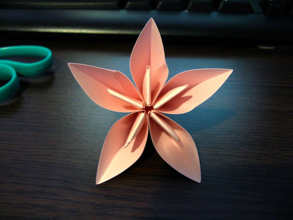 Flower Origami Ball Origami Origami Ball And Flower