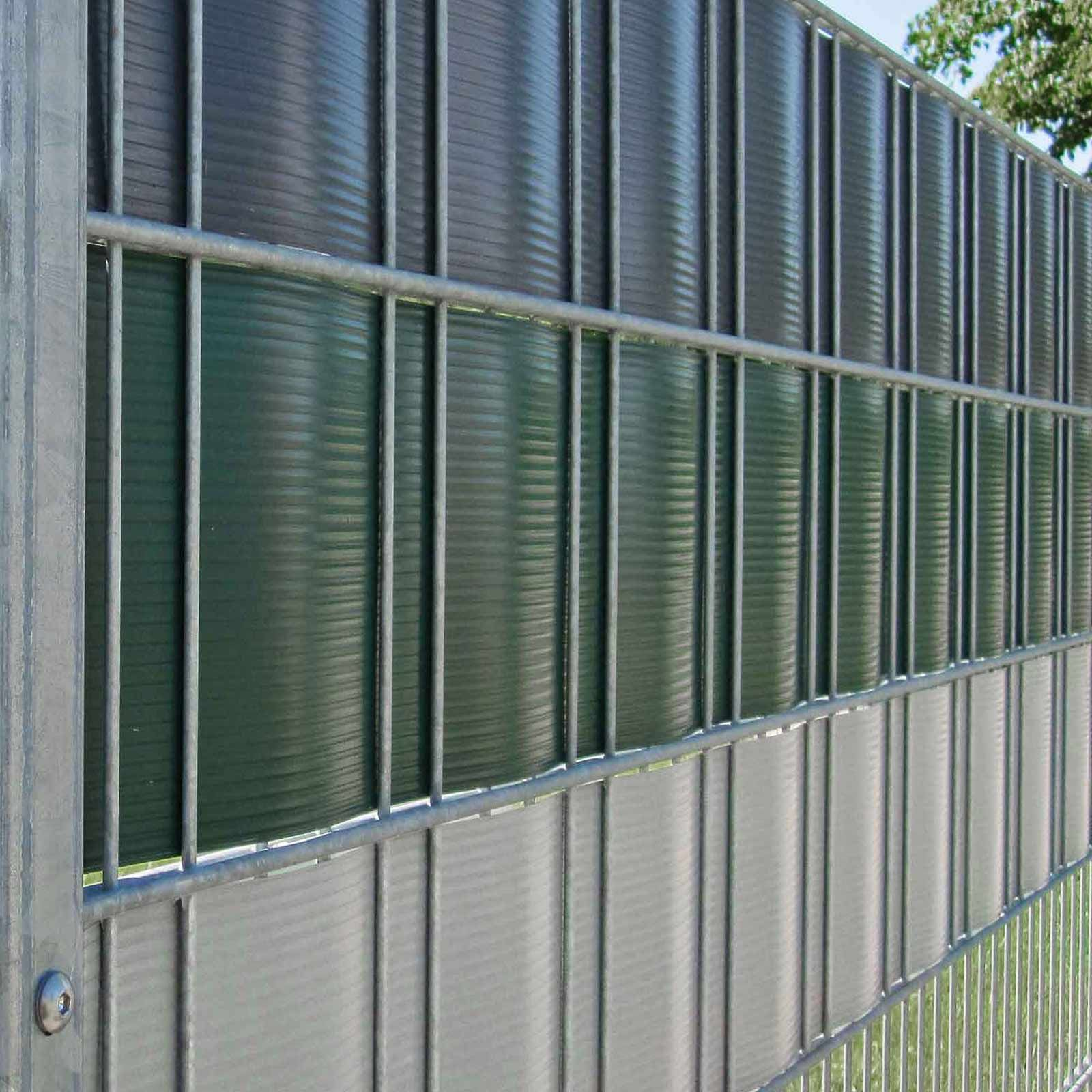 Sichtschutz Streifen Hart Pvc Grun 23 5cm Hoch Mit Bildern