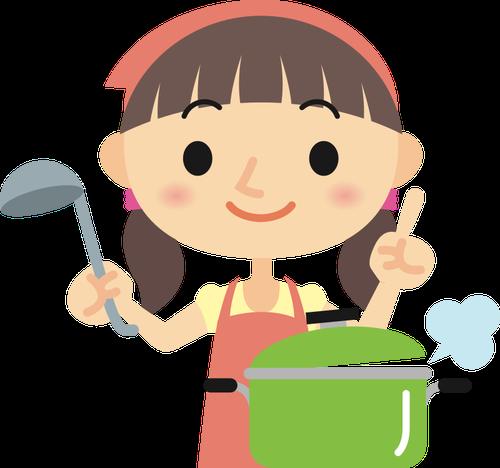 30 Gambar Kartun Memasak Di Dapur Gadis Memasak Domain Publik Vektor Download Gambar Bermain Manis Imut Pot Patung Makanan Memasak Di 2020 Kartun Gambar Memasak