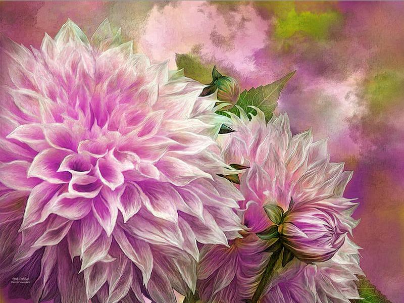 Цифровая живопись Кэрол Каваларис. Цветы   Цветочные ...