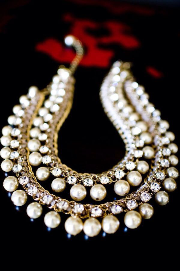 7b669e8aa Perfect pearls   Jewelgasms   Jewelry, Pearls, Pearl Necklace