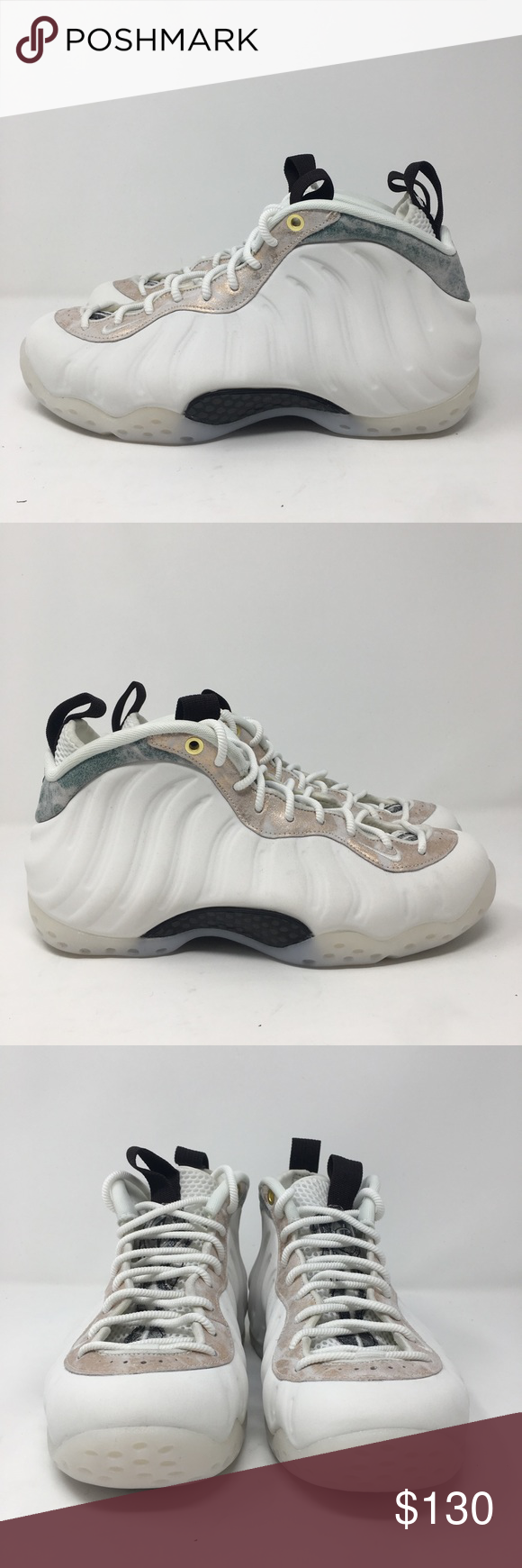 USED ​​MENS NIKE AIR FOAMPOSITE ONE OLYMPIC WHITE ...